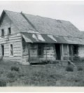 This is Frank Beatton's home at the Old Fort.  Circa 1940s