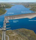 BC Hydro's proposed Site C hydroelectric dam.