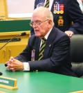Day Roberts requests the City's help in finding the Legion a new home.