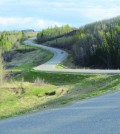 """Snakepit Road"" east of Dawson Creek. Photo: Stacy Thomas"