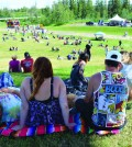 The first Dawson Creek Music Festival took place in Kin Park on July 12. Photo: Stacy Thomas