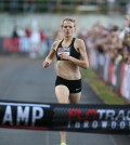 Fiona Benson sets her sights on the finish line at the FloTrack Throwdown in Portland, Oregon August 8. Photo: FloTrack