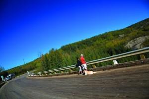 The Historic Kiskatinaw curved bridge. Photo: Simon Ratcliffe