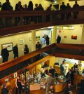 Dawson Creek Art Gallery re-opening event on Jan. 8. Photo: Stacy Thomas